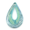 Lamp Bead Double Raindrop 1Pc 62x37mm Spring Rain